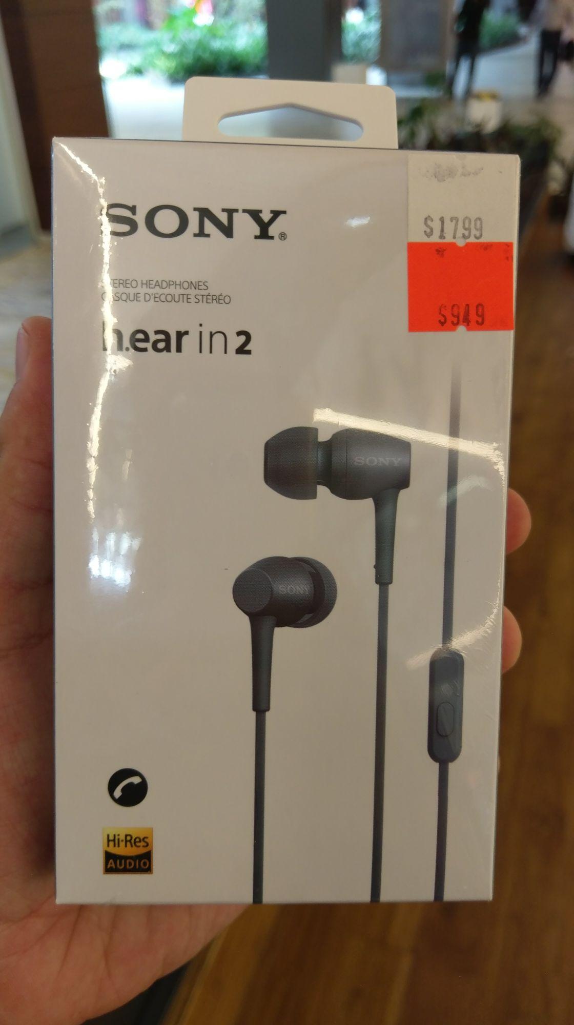 Sony Store Satélite, audífonos h.ear in 2, IER-H500
