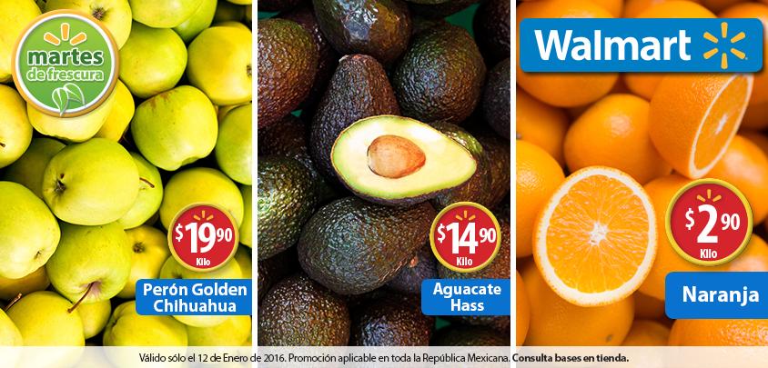 Martes de frescura en Walmart enero 12: Naranja a $2.90 el kilo y más