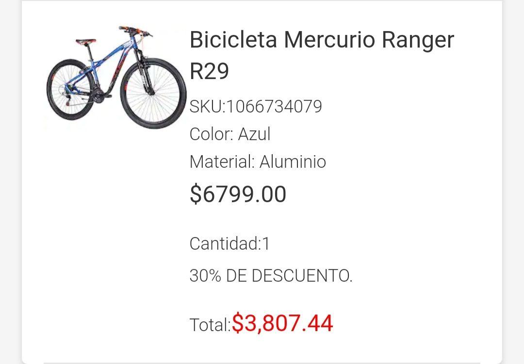 Liverpool: Bicicleta Mercurio Ranger R29