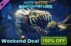 DLC Minion Masters - Might of the Slither Lords  PC  -100%  |  STEAM