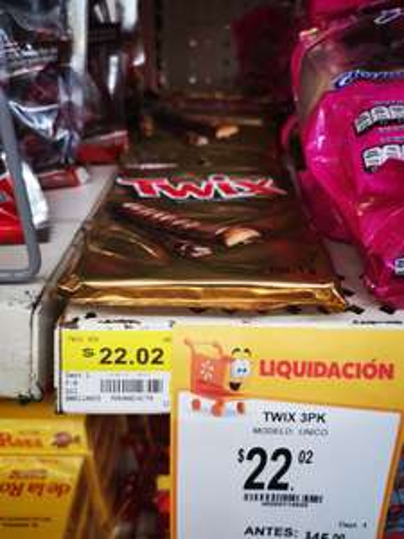 Walmart Dgo : Chocolate Twix