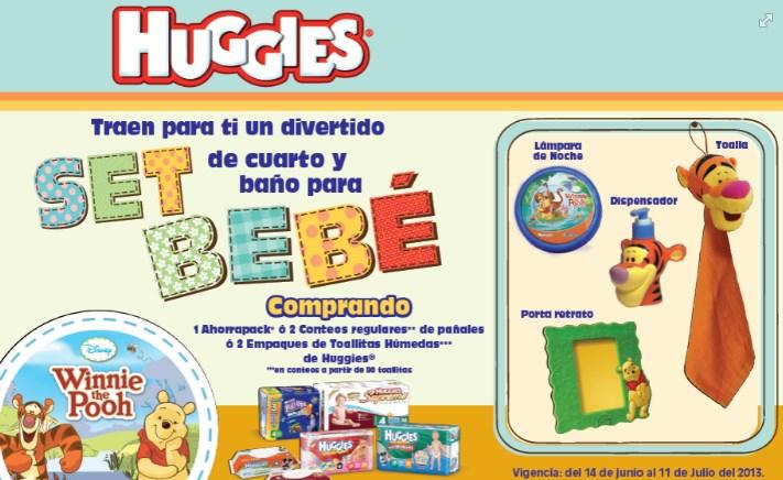 Huggies: set de cuarto y baño de Winnie Pooh al comprar pañales o toallitas