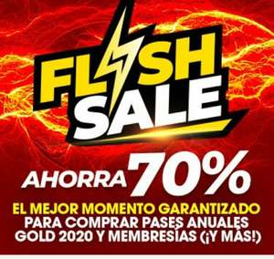 Six Flags: Preventa exclusiva Flash Sale Pase Anual 2020