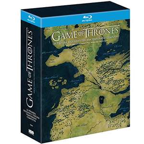 Amazon.mx Game of Thrones temporadas 1-3 en BR