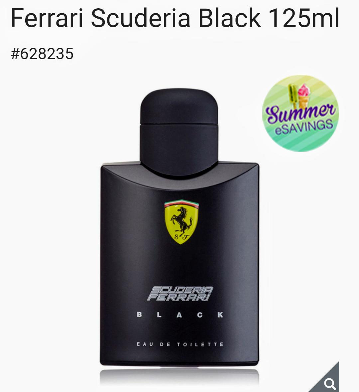 Costco Perfume Ferrari Black
