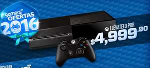 Gamers: Distintas ofertas, incluye Xbox One Refurbished a $5000