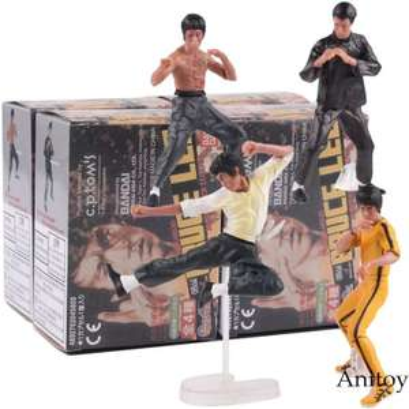 AliExpress: 4 figuras PVC Bruce Lee