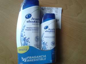 Walmart: Shampoo head and shoulders o Herbal Essences + regalo a $29.03