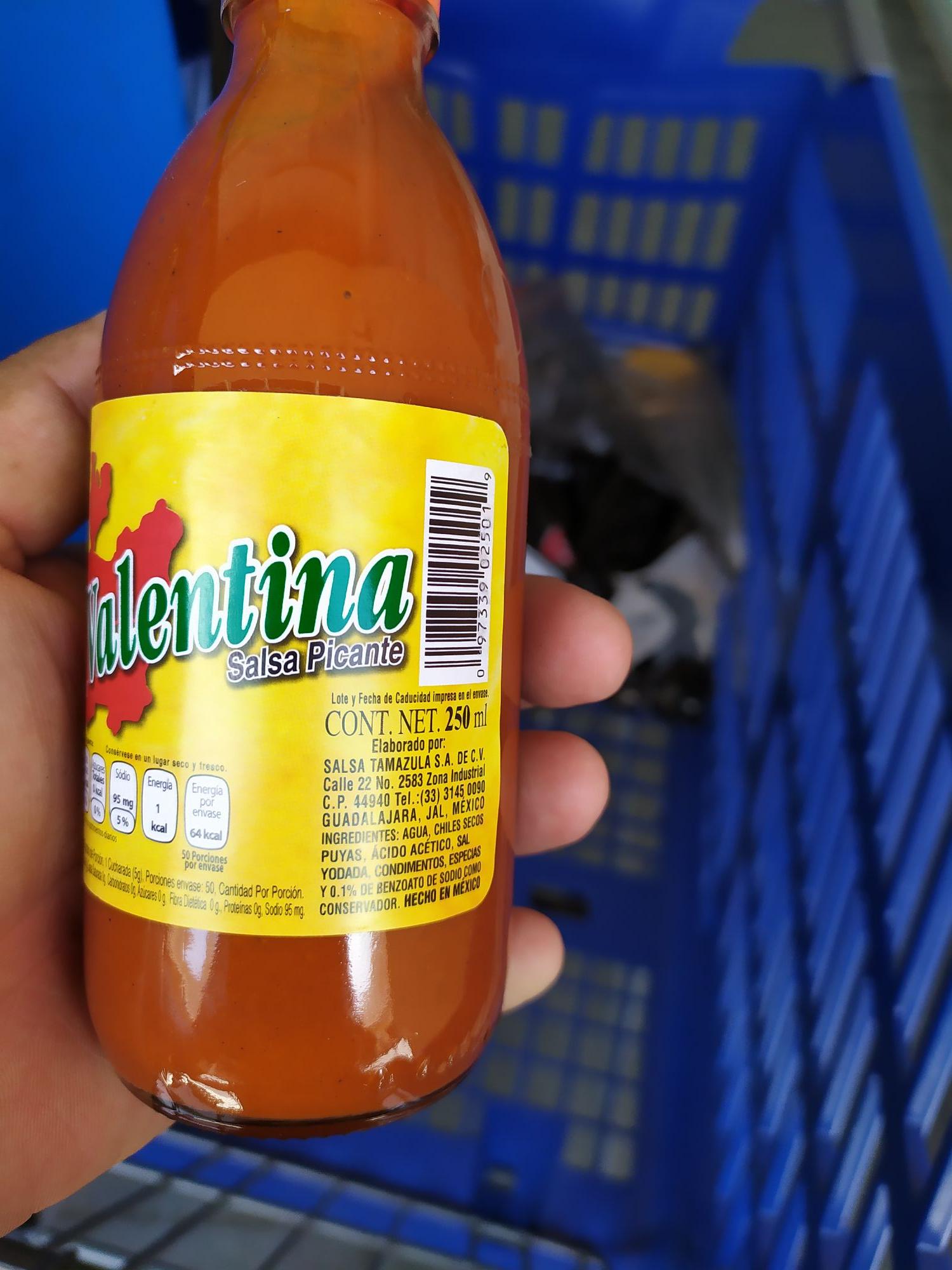 Walmart: Salsa Valentina 250 ml