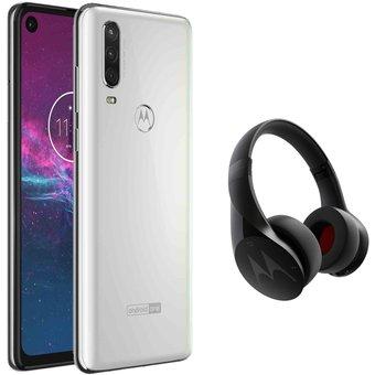 Linio: Moto one action + audifonos