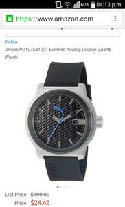 Amazon USA reloj puma