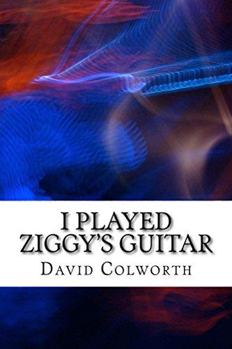 """Libro sobre David Bowie """"I Played Ziggy's Guitar"""" como descarga GRATUITA en Amazon (US) por 24 horas."""