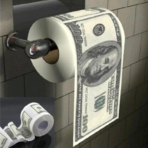 Aliexpress:Papel de baño con estampado de Donald Trump o Dolar