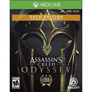Linio: Assassin's Creed Odyssey Gold Steelbook Edition - Xbox One
