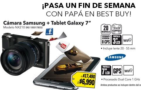 """Best Buy: pantalla Sony LED 32"""" $4,545, cámara Samsung 20MP + Galaxy Tab 7"""" $6,990 y +"""