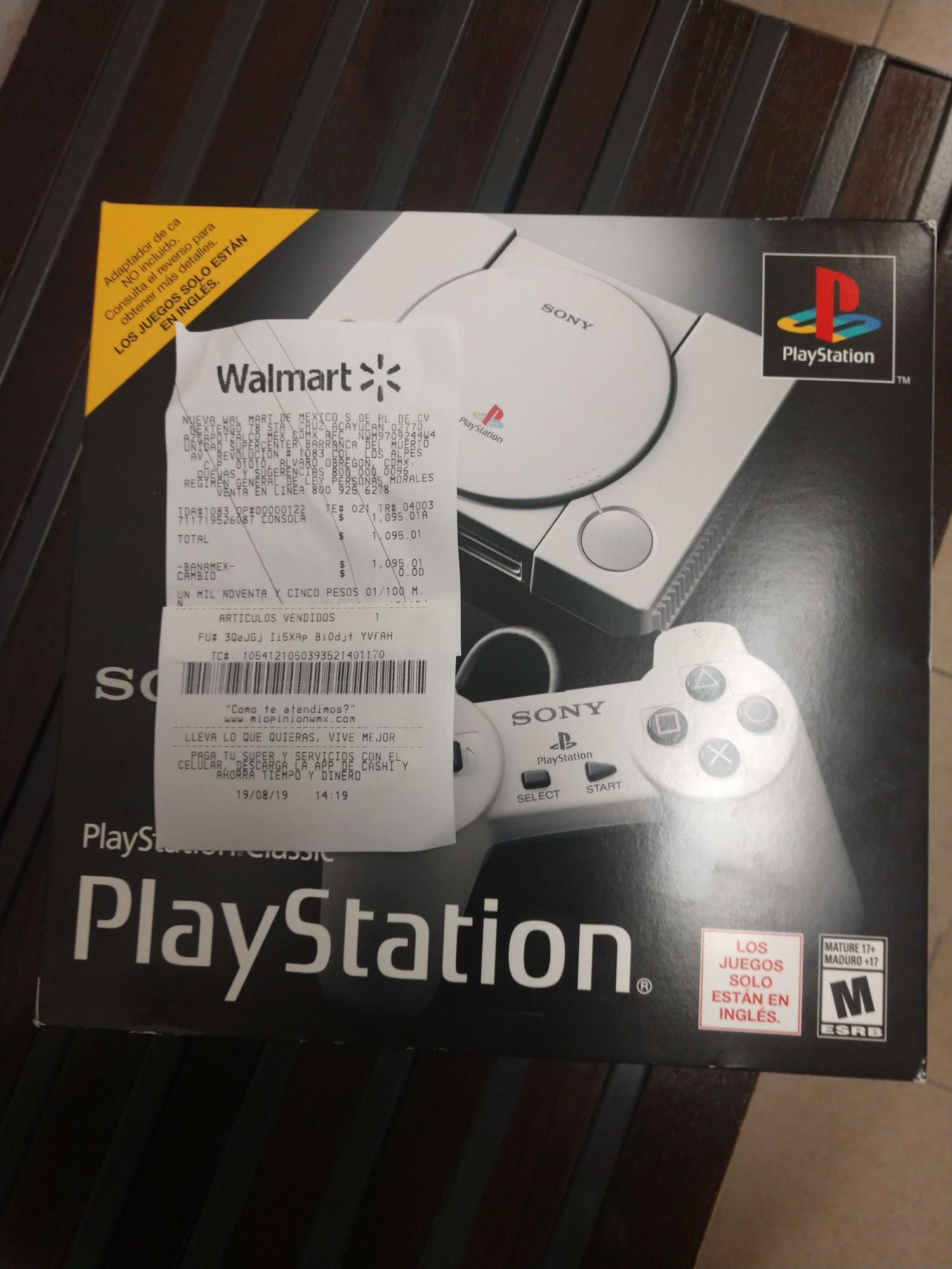 Walmart: Playstation classic