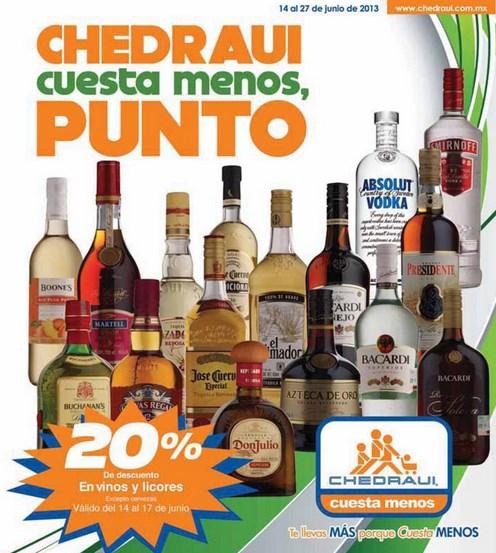 Chedraui: 20% de descuento en vinos y licores, bonificación en TVs, celulares y +