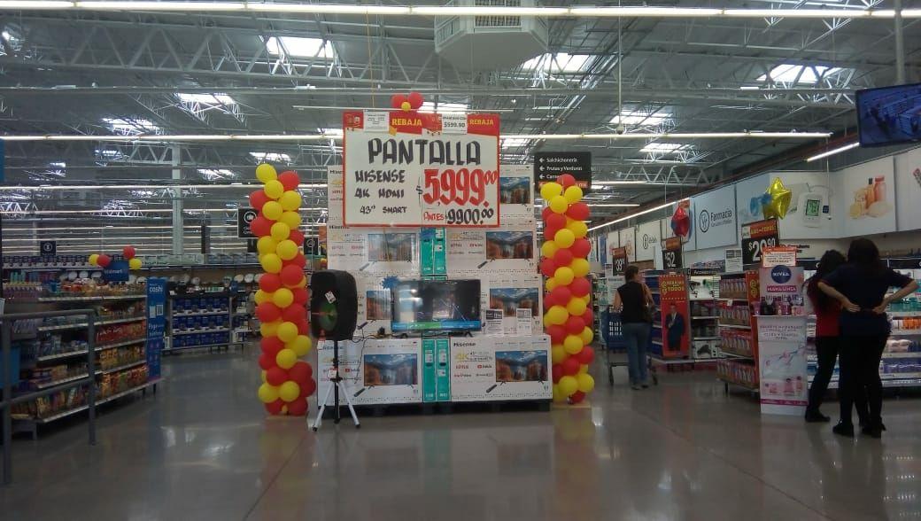 Walmart: Pantalla Hisense 4K