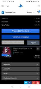 Playstation store: Bloodstained ritual of the night