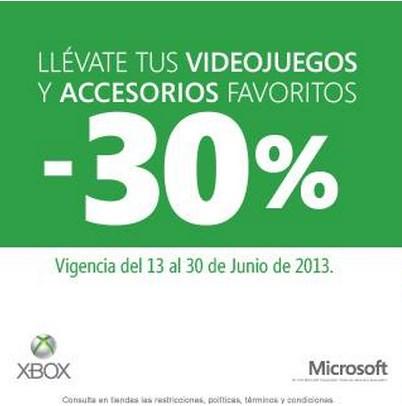 30% de descuento en juegos de Halo, Gears of War, accesorios y más