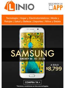 Linio: Samsung Galaxy S6 32Gb color blanco