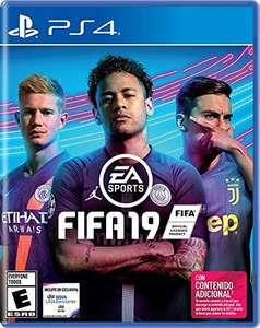 Amazon: FIFA 19 para PS4