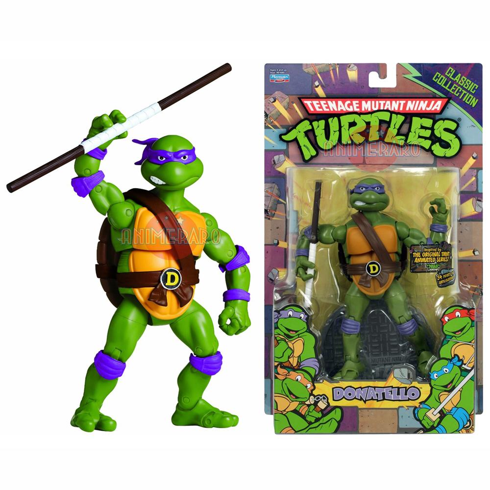 Bodega Aurrerá: Tortugas Ninja Retro (6 Pulgadas)