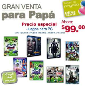 Office Depot: Assassin's Creed 3, Darksiders 2 y más juegos de PC $99