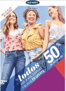 Old Navy Descuento 50 %