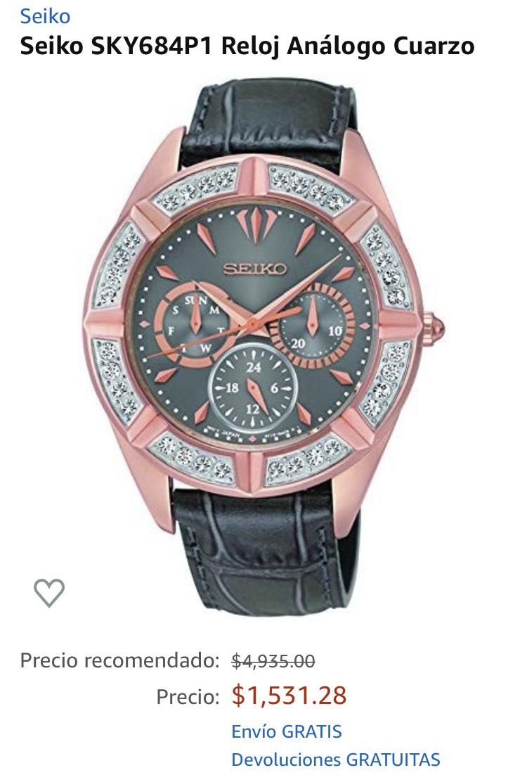 Amazon: Reloj Seiko Mujer