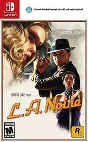 Amazon: L.A. Noire - Ultimate Edition para Nintendo Switch