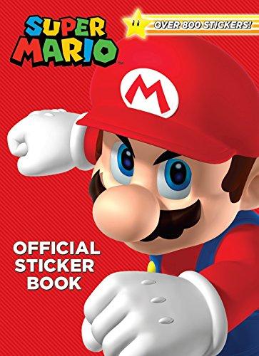 Amazon: Libro de actividades con más de 800 stickers de Super Mario