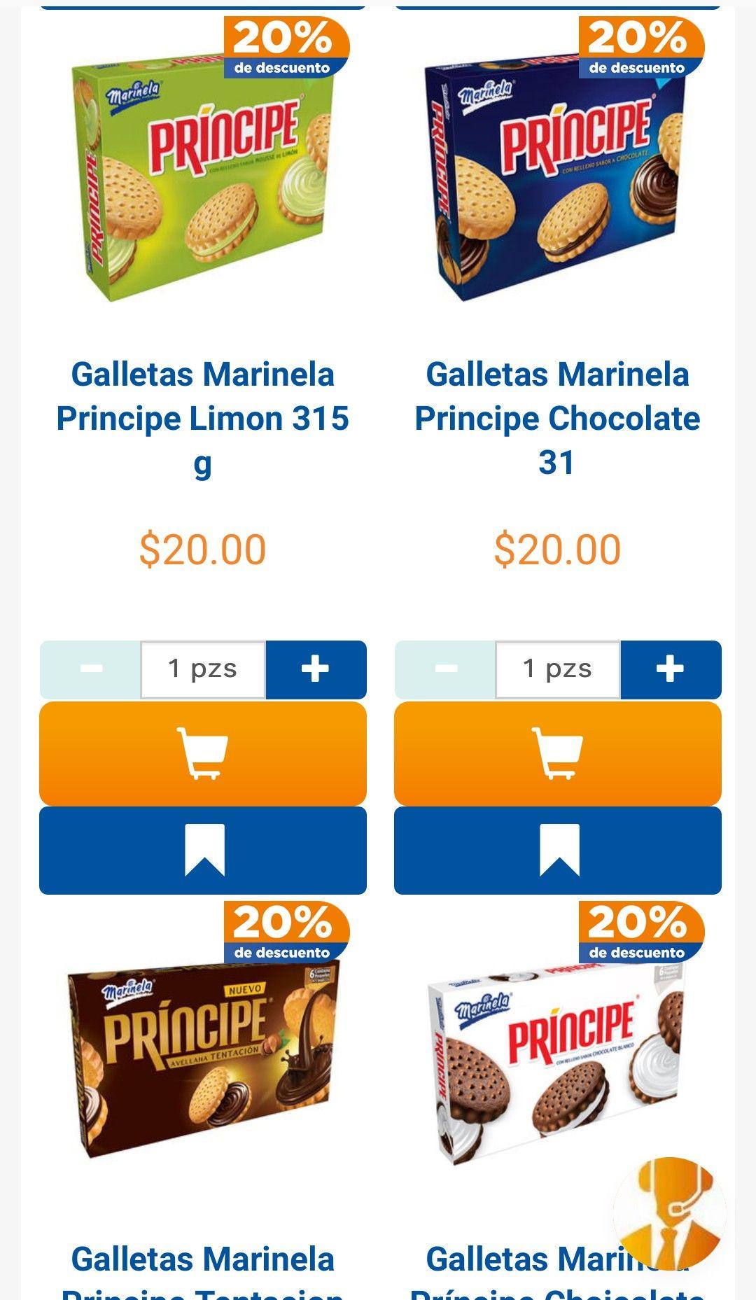 Chedraui: 20% de descuento en todas las galletas Marinela, Cuétara y La Moderna y 30% de descuento en Mayonesas Hellmann's