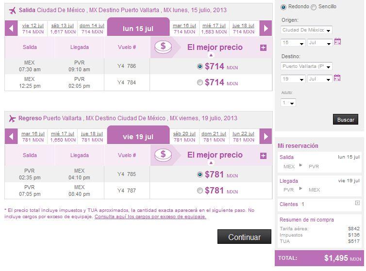 Volaris: vuelos desde el DF o GDL desde $1,499 redondo