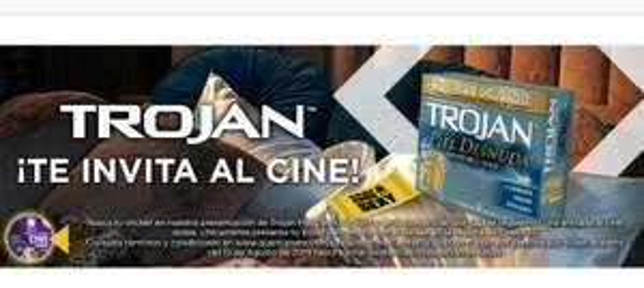 Sam's Club: Paquete Trojan te regala DOS entradas al CINE