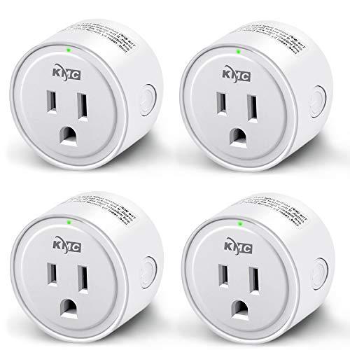 Amazon USA: 4 Smart Plug compatibles con Google Home y Alexa