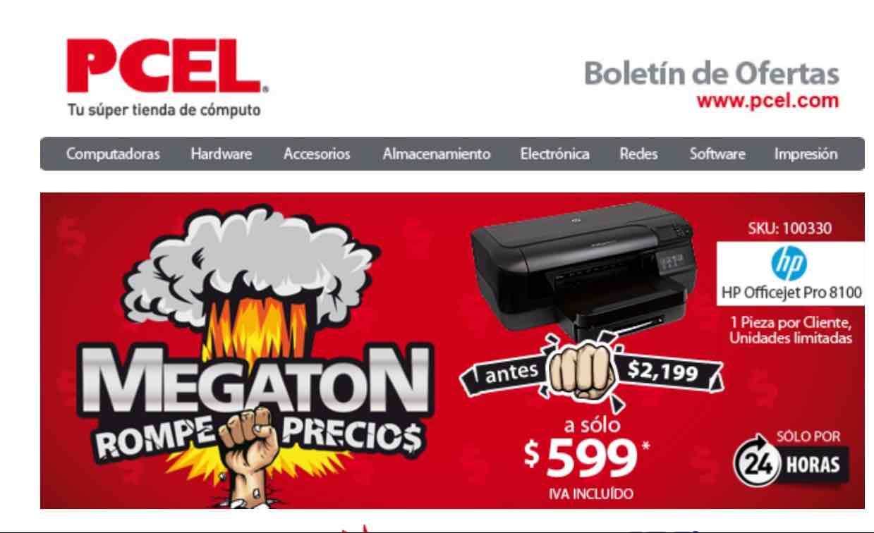 Pcel online Impresora WIFI HP officejet pro 8100 $599