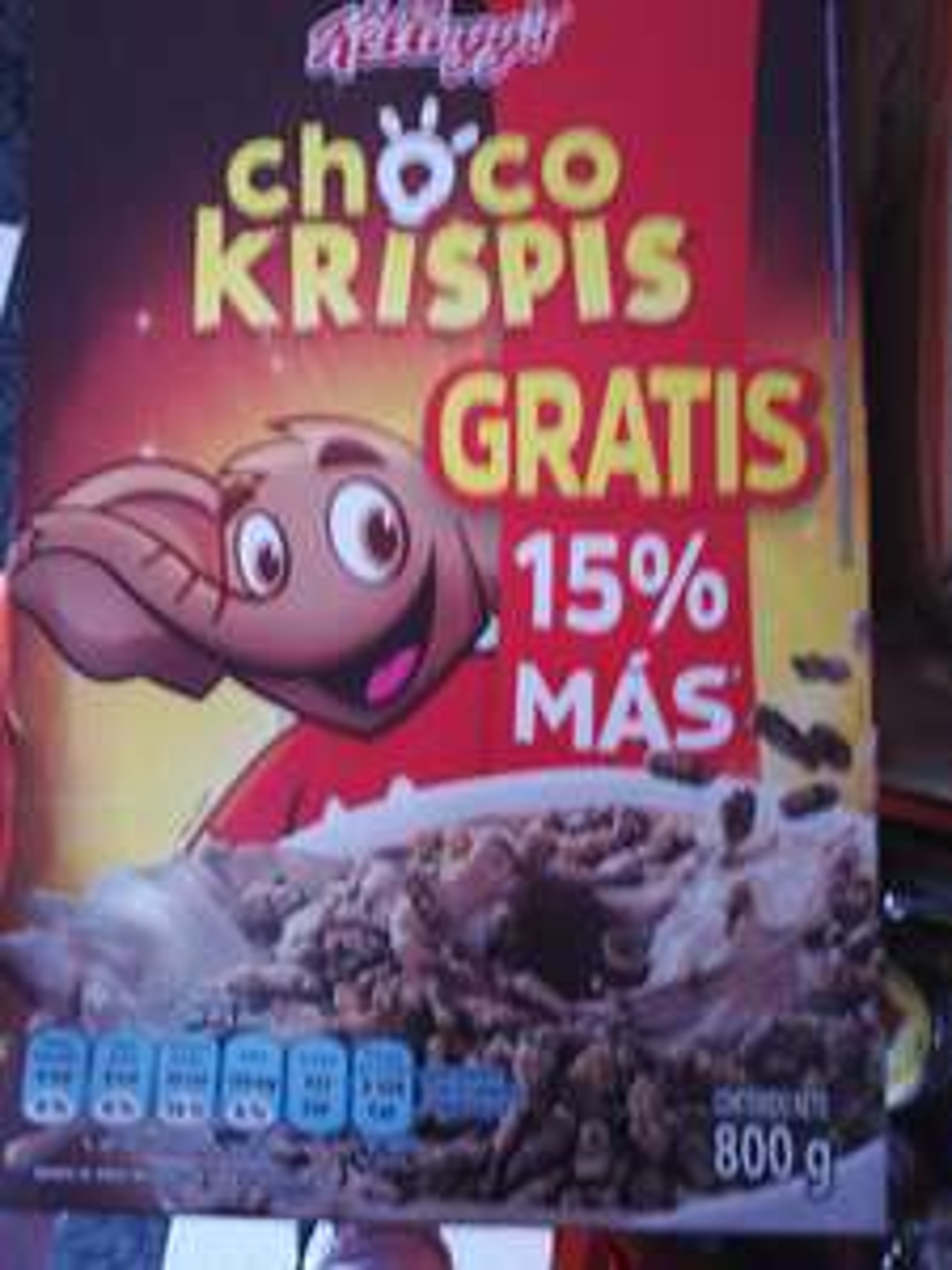 Chedraui: Choco krispis