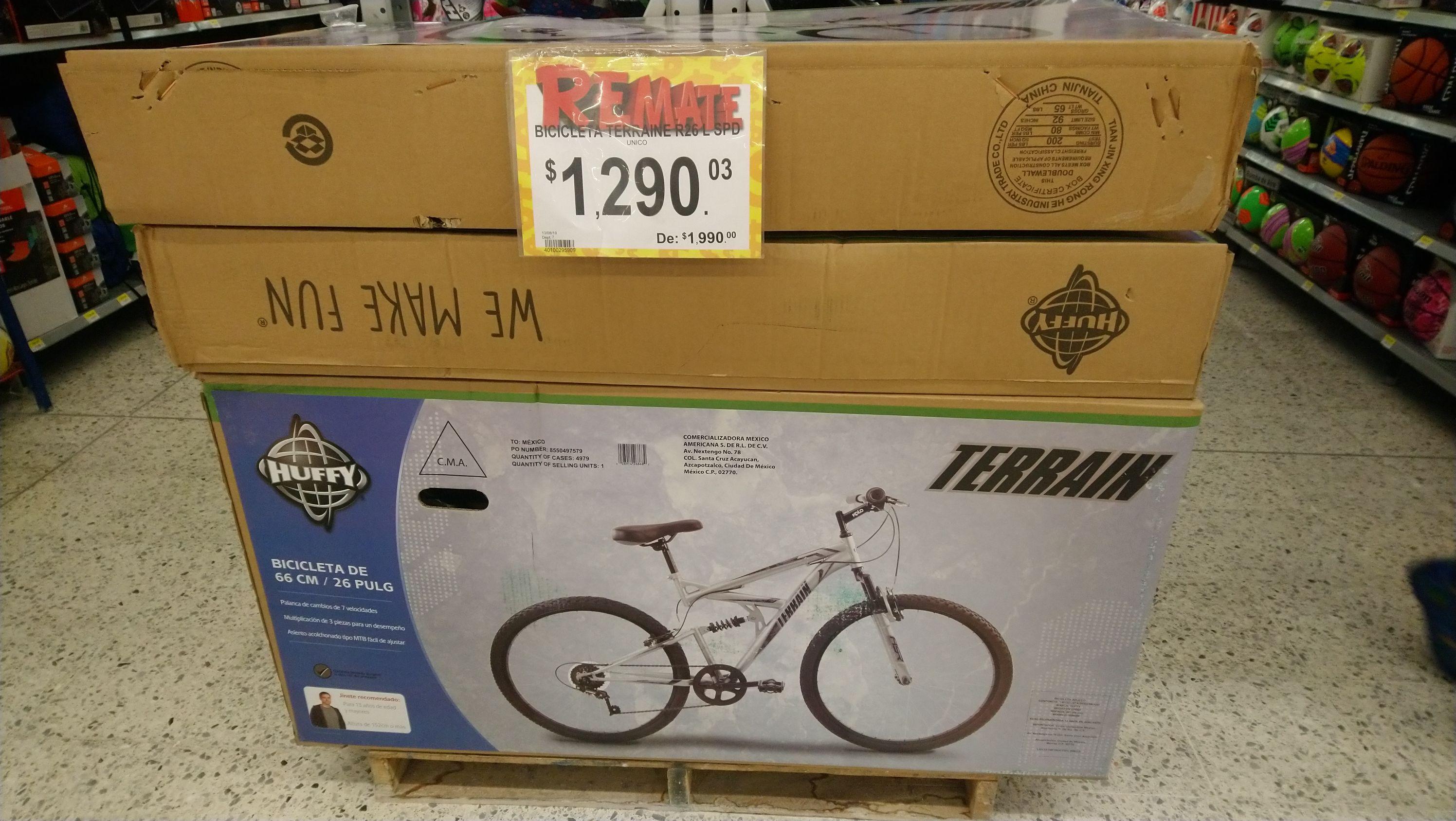 Bodega Aurrera: Bicicleta Huffy Terrain R26 de 7 velocidades