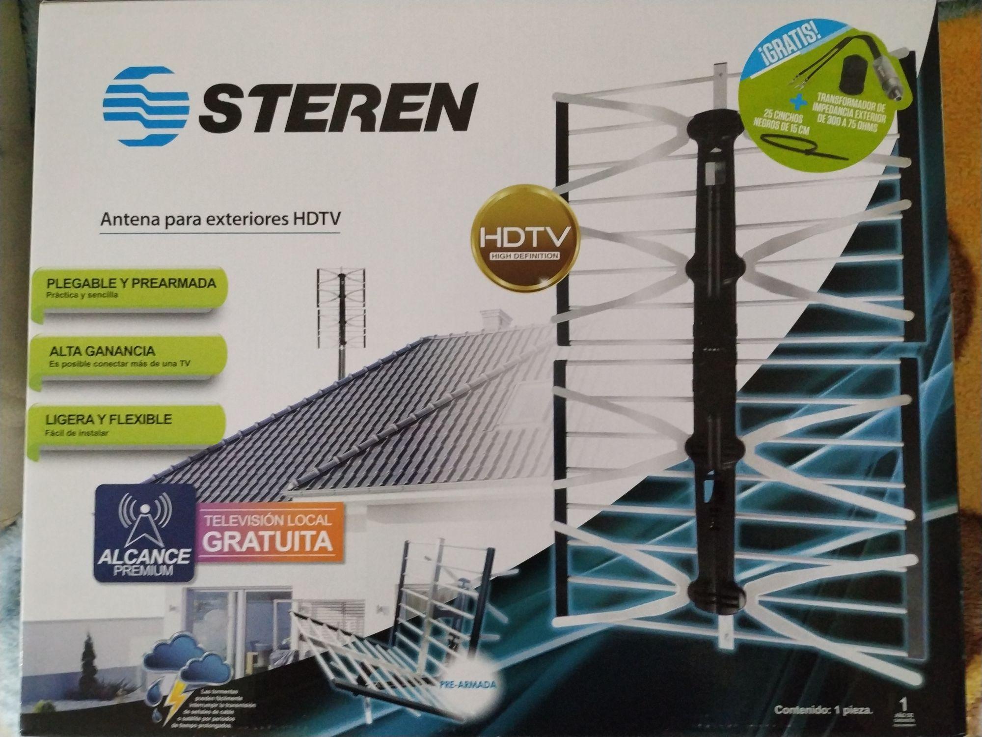 Chedraui en línea: Antena HDTV Steren XTREME para exteriores de $595 a $295