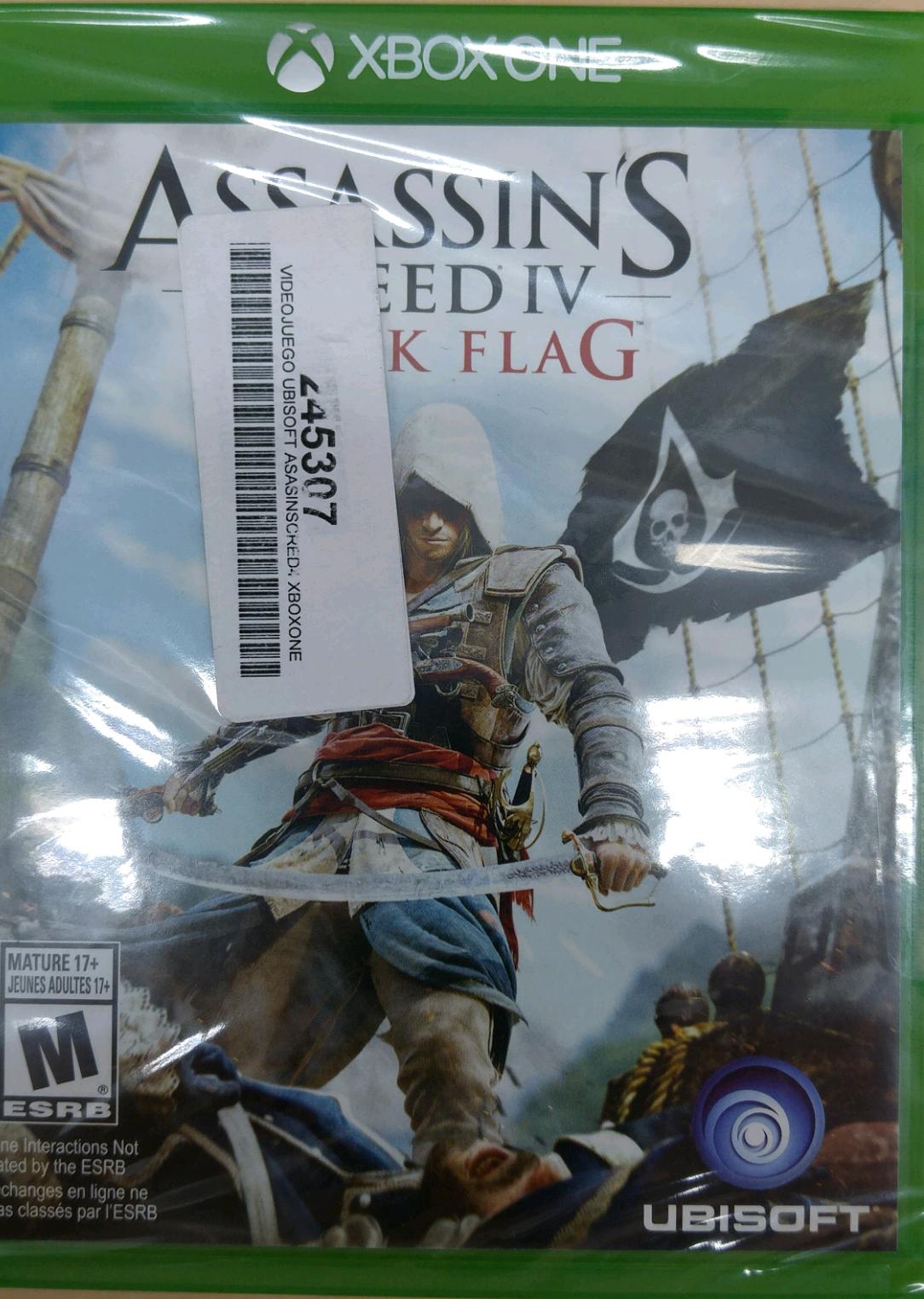 Coppel: Juego Xbox One Black Flag a $130