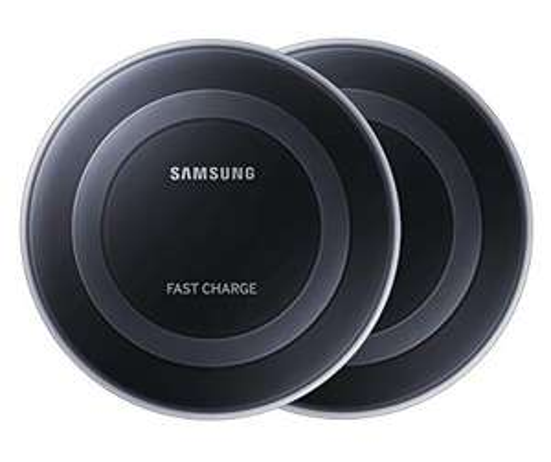 Amazon: 2 Cargadores Samsung inalámbrica carga rápida con Certificado Qi