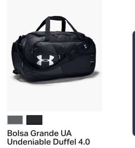 Under Armour estilo Duffel, 2 maletas por $1129