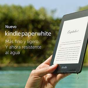 Amazon: Kindle Paperwhite, resistente al agua, color Negro, 8 GB Wi-Fi, 10ª generación