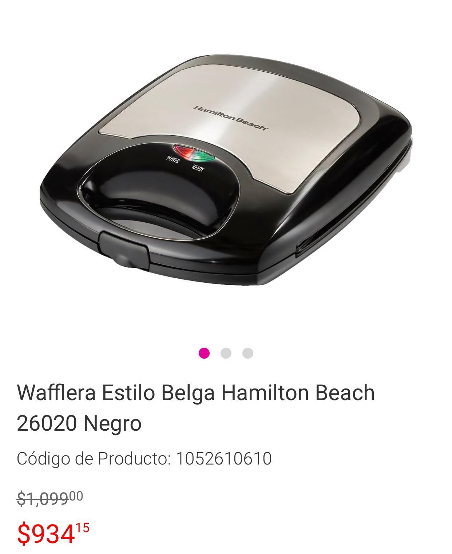 Liverpool en línea: Wafflera Hamilton Beach