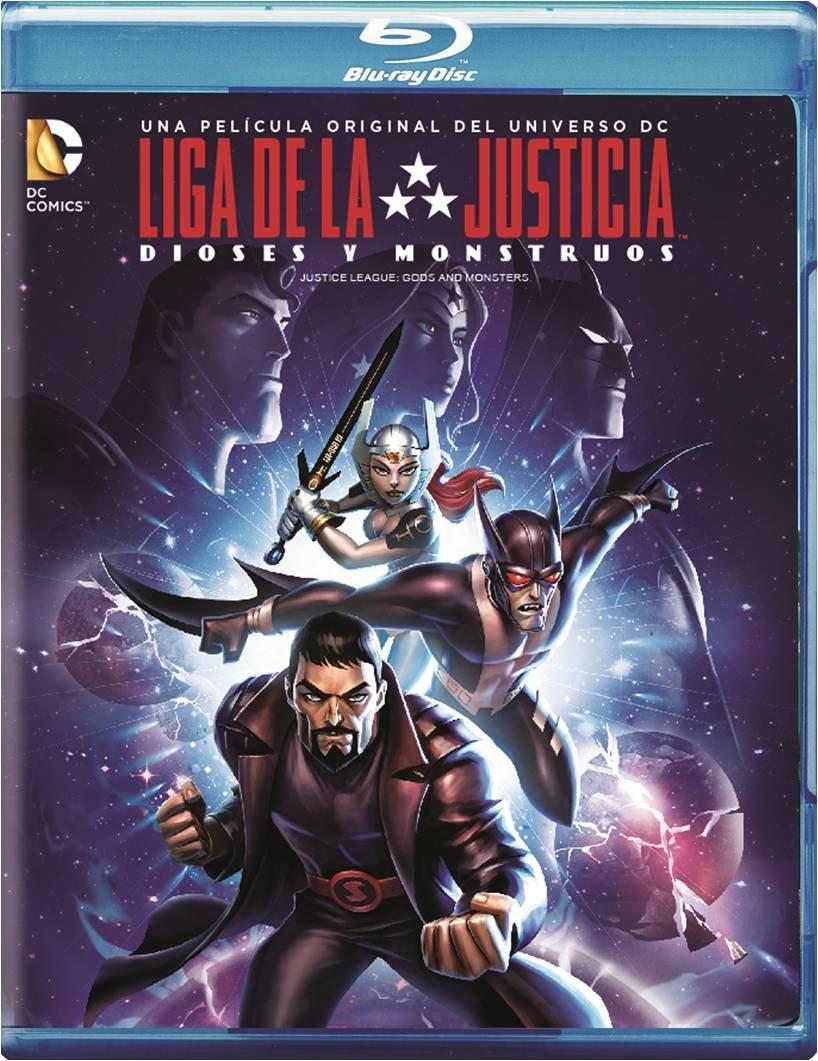 Amazon: La Liga de la Justicia, Dioses y Monstruos [Blu-ray]