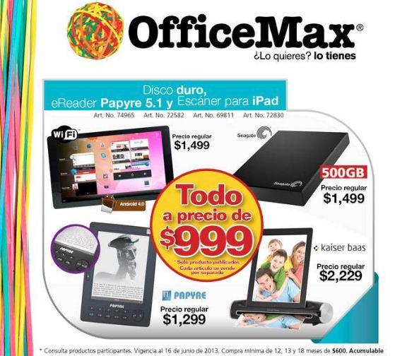 OfficeMax: promociones por el día del padre