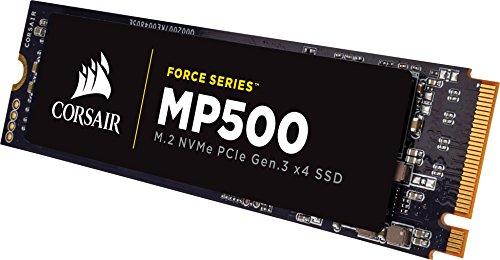 Amazon: Corsair MP500 240 GB PCI Express 3.0 M.2 - Disco duro sólido (240 GB, M.2, PCI Express 3.0, 3000 MB/s)