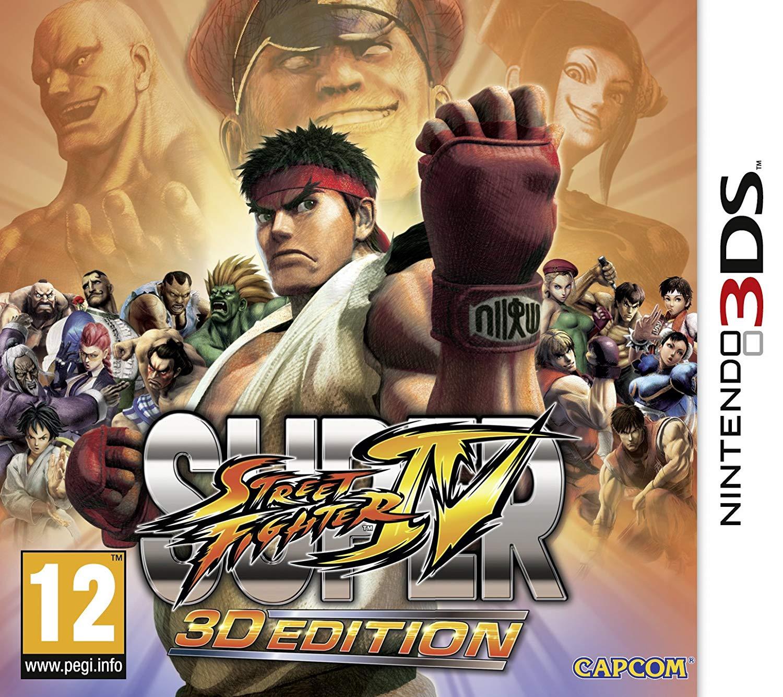 Nintendo eShop: Street Fighter IV 3DS