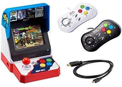 Amazon USA: NeoGeo Mini Pro, SNK Consola + 2 Controles + Cable (Versión Japonesa)